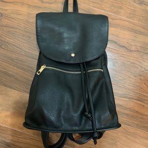 ASOS vegan leather backpack